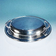 PRIMROSE PLATE Silver 2 Piece Oval Vegetable Entree Dish