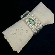 SHANNON CRYSTAL Napkin Rings 24% Lead Crystal - Poland