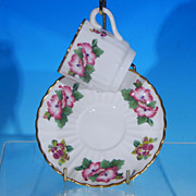 Vintage SPODE Porcelain Teacup Tea Cup & Saucer Set - Boxed & Discontinued
