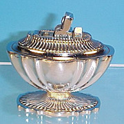 Vintage Classic A.S.R. Silver (Rhodium Finish) Table Lighter #1250T (c. 1949)