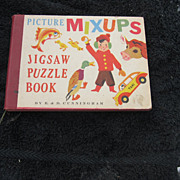Vintage Children's Puzzle Book