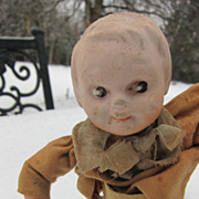 SALE SALE! Early wind up walking doll