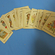 Vintage Card Game: Happy Families
