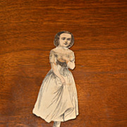 McLoughlin Paper doll: Lady Tom Thumb circa 1860-1880