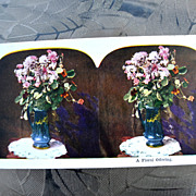 Two lovely old stereo cards in color