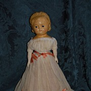 "Lovely ""Pumpkin Head"" 1860-1870's"