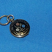 Locely Victorian Mourning Locket