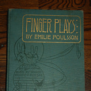 Finger Plays by Emilie Poulsson (1893)