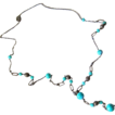 Art Deco Dragon�s Egg/Peking Glass Flapper Necklace