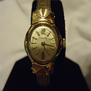 Beautiful Ladies Bulova 10k RGP 17Jewel Restored Wristwatch