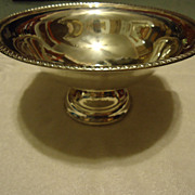 "SALE Super Large Sterling Silver 9"" Compote Bowl-Red Tag Sale"