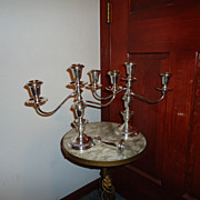 SALE Exquisite Pair of Watrous Sterling Silver 3 Arm Candelabras-Red Tag Sale
