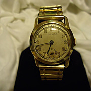 SALE Restored Emil Leichter Davidson 21 Jewel 10k GF Wristwatch