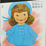 Circa l960's Uncut Paper Doll Book &quot;My Doll Kisses&quot;