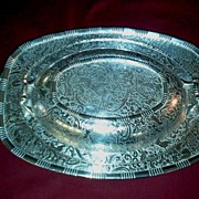 Silver-plated Bowl with Matching Cover