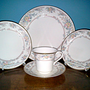Charleston by Viletta China Co.  5 Piece Setting Fine China