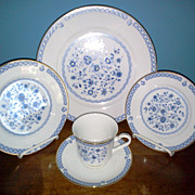 Halsingborg  by Viletta China Co.  5 Piece Setting Fine China