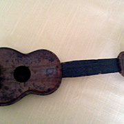 Vintage Toy Medal Ukulele 30's or 40's