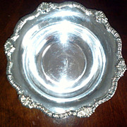 Silver Plated Condiment Bowl Made in England