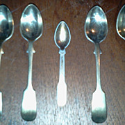 5  Small Salt Spoons