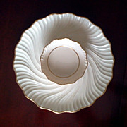 Lenox Serving Plate with Attached Bowl