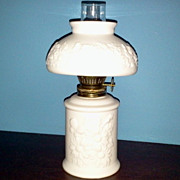 Porcelain Oil Lamp Floral Sentiments