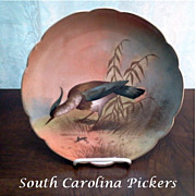 L.R.L. Limoges Game Bird Plate Signed by Puisoye