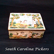 Capodimonte Porcelain Trinket Box