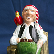 Vintage SCHMID Pirate Bank 1982 Charming