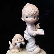 "SALE Vintage Precious Moments Figurine ""The End Is In Sight"", E9253"