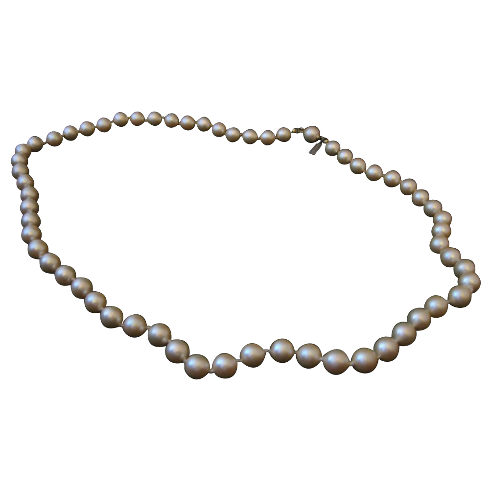 Marvella Faux Pearl Necklace From Loveitall On Ruby Lane