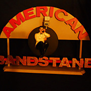 Dick Clark American Bandstand Display Sign.