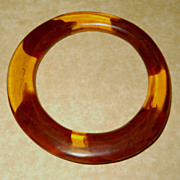 Root Beer & Apple Juice Bakelite Bracelet