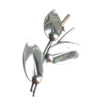 Vintage Danish Modern Niels Erik From Sterling Silver Leaf Pin