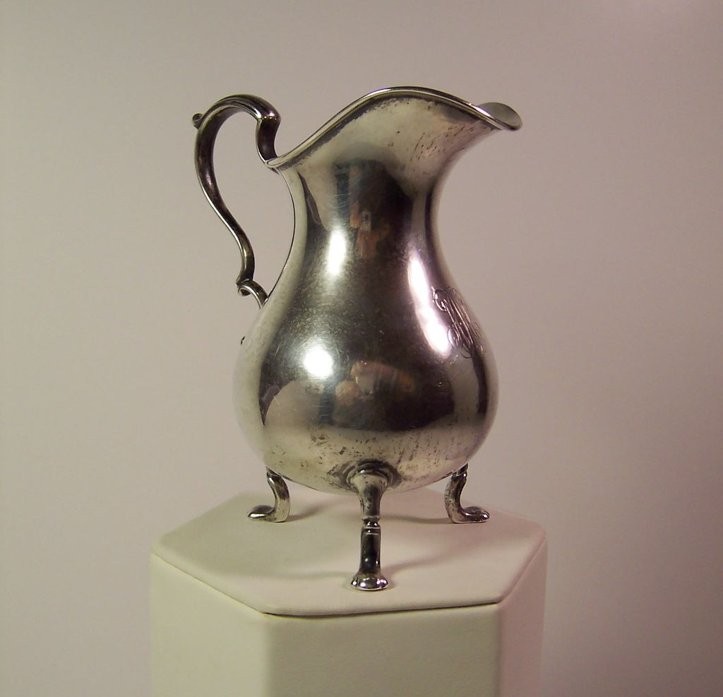 TIFFANY & CO. |  Sterling Silver 1 Gill Cream Jug | 1902-1907