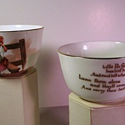 ROYAL DOULTON Nursery Rhymes Bowls | ca. 1920s