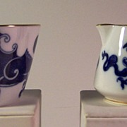 "ROYAL WORCESTER ""Blue Dragon"" 