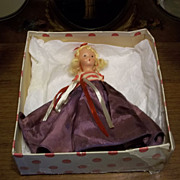 REDUCED Nancy Ann Story Book Doll  A Very Independent Lady for July number 193