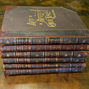 Complete Six Volume Set Of Art And Artists Of Our Time, Dated 1888