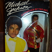 Michael Jackson Barbie Doll Superstar of the 80's American Music Awards Outfit