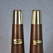 Mid-Century Nasco Modern Salt and Pepper Shakers