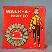 Walk-A-Matic Toy Pedometer by the Chadwick Miller Co.