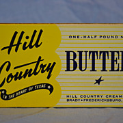 Hill Country Creameries Butter Container