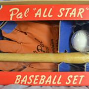 Pal &quot;All Star&quot; Baseball Set