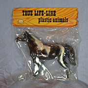 True Life-Like Plastic Horse