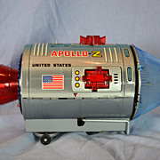 Battery Operated Nomura Apollo-Z Space Capsule Toy