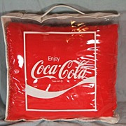 REDUCED Coca-Cola Logo Blanket/Robe