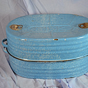 Lisk Graniteware Roaster with Instructions