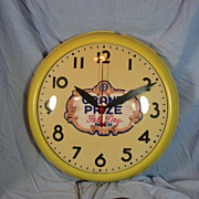 REDUCED Grand Prize Beer Clock-Electric