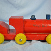 Playskool Pull Toy Wooden Train